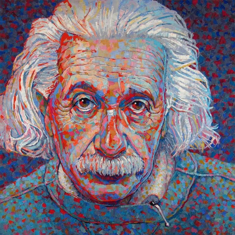 Raymond Logan Interior Painting - Albert Einstein