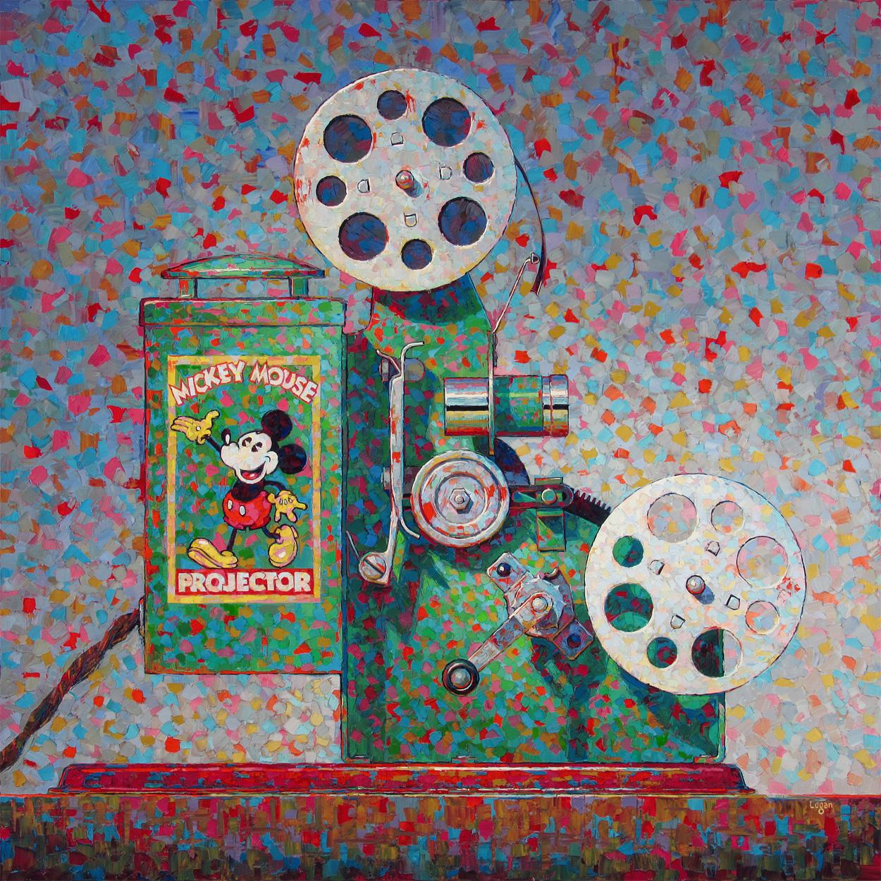 Mickey Mouse Projector