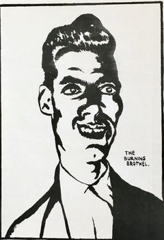 Raymond Pettibon early Punk flyer (Raymond Pettibon prints)