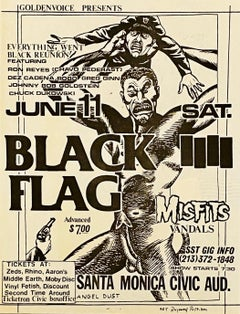 Raymond Pettibon for Black Flag (Raymond Pettibon prints)