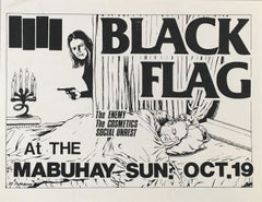 Raymond Pettibon Black Flag 1980 (early Raymond Pettibon punk)