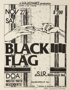 Raymond Pettibon, Illustrated Punk Flyer