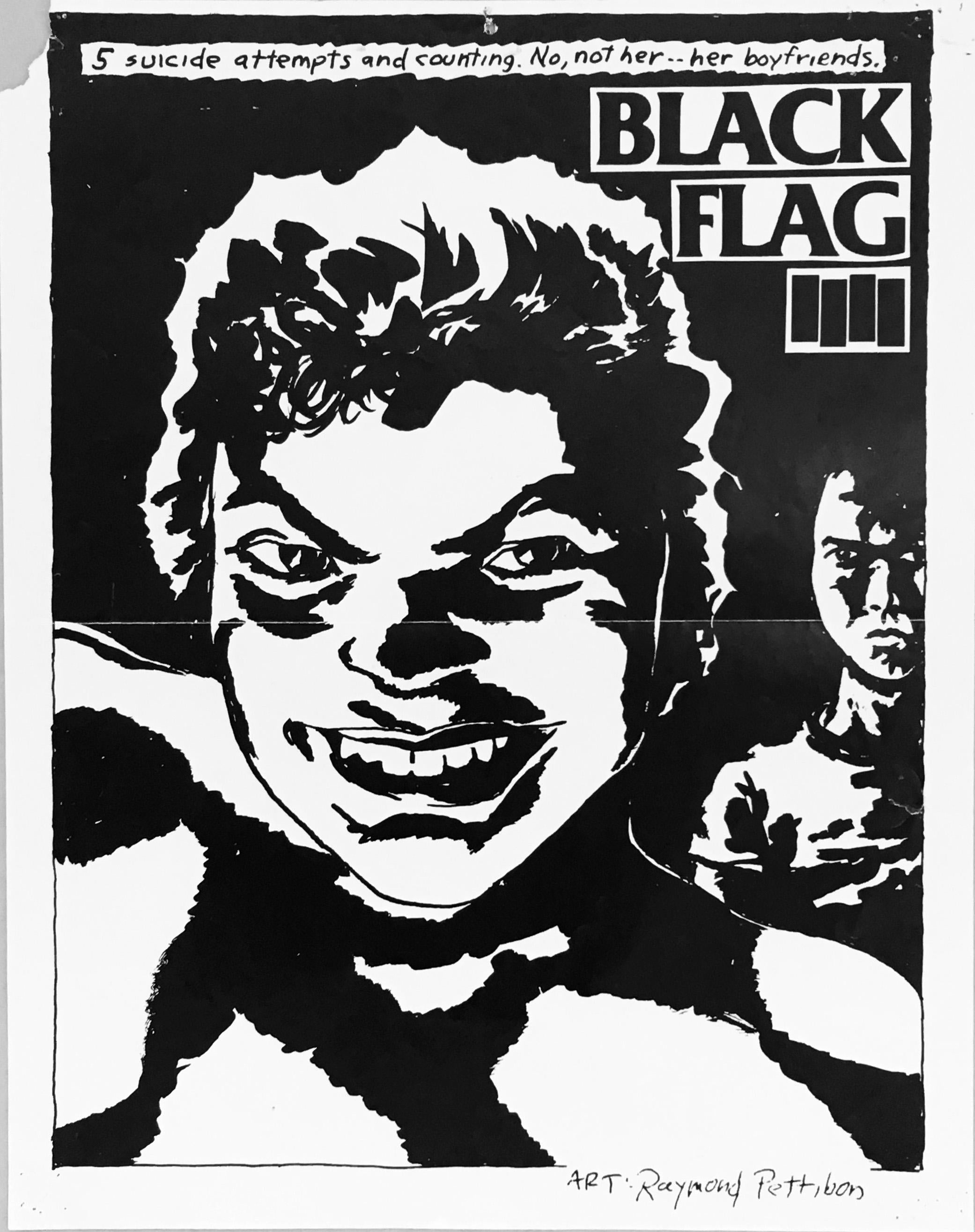 Image result for raymond pettibon black flag