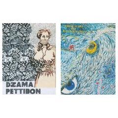 Raymond Pettibon Marcel Dzama Artist Books 2016 'set of 2'