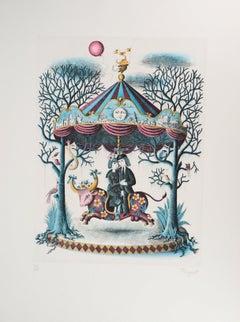 Astrology - Zodiac : Taurus - Original Etching, 1979