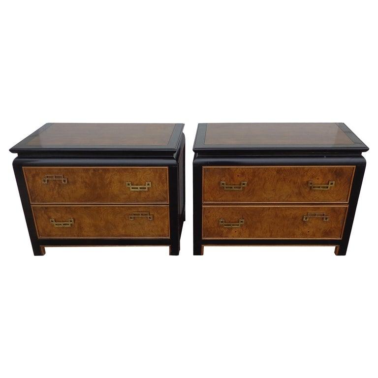 Raymond Sobota Chin Hua Nightstands for Century Furniture For Sale