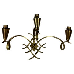 Raymond Subes Style Wall Sconce