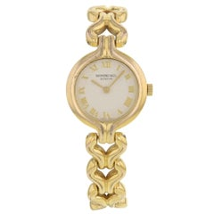 Raymond Weil 5878 Gold-Plated Stainless Steel Quartz Women's Watch