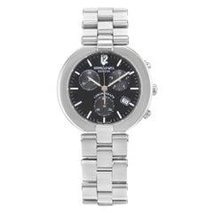 Raymond Weil Allegro Chronograph Black Dial Steel Quartz Men's Watch 4817S-BK