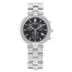 Raymond Weil Allegro Chronograph Black Dial Steel Quartz Mens Watch 4817S-BK