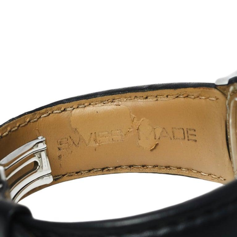 Raymond Weil Black Stainless Steel Leather Freelanc  Men's Wristwatch 42.50 mm 4