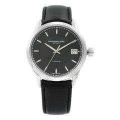 Raymond Weil Freelancer Black Dial Steel Automatic Men's Watch 2740-STC-20021
