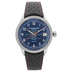 Raymond Weil Freelancer Steel Blue Dial Automatic Men's Watch 2754-SR-05500