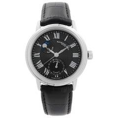 Raymond Weil Maestro Moonphase Steel Black Dial Men's Watch 2839-STC-00209