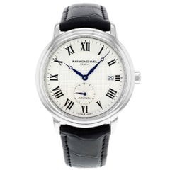 Raymond Weil Maestro Steel Silver Dial Automatic Men's Watch 2838-STC-00659