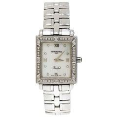 Raymond Weil Mother of Diamonds Parsifal 9731 Women's Wristwatch 22 mm