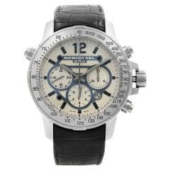 Raymond Weil Nabucco Titanium Steel Leather Automatic Men's Watch 7820-STC-05607