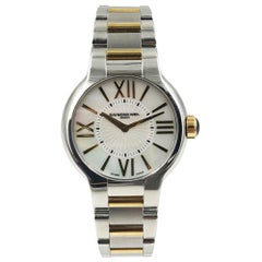 Raymond Weil Noemia 5932-STP-00907 MOP Steel & 18K Gold PVD Quartz Ladies Watch