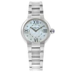 Raymond Weil Noemia Blue MOP Diamonds Steel Quartz Ladies Watch 5932-ST-00995