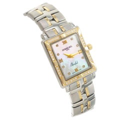 Raymond Weil Parsifal .20 Carat Diamond Gold Ladies Wristwatch