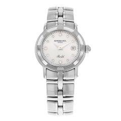 Raymond Weil Parsifal MOP Diamond Dial Steel Quartz Ladies Watch 9441-ST-97081
