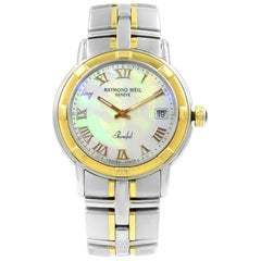 Raymond Weil Parsifal MOP Roman Steel Quartz Men's Watch 9540-STG-00908