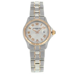 Raymond Weil Parsifal Silver Dial Steel 18K Gold Ladies Watch 9460-SG5-00658
