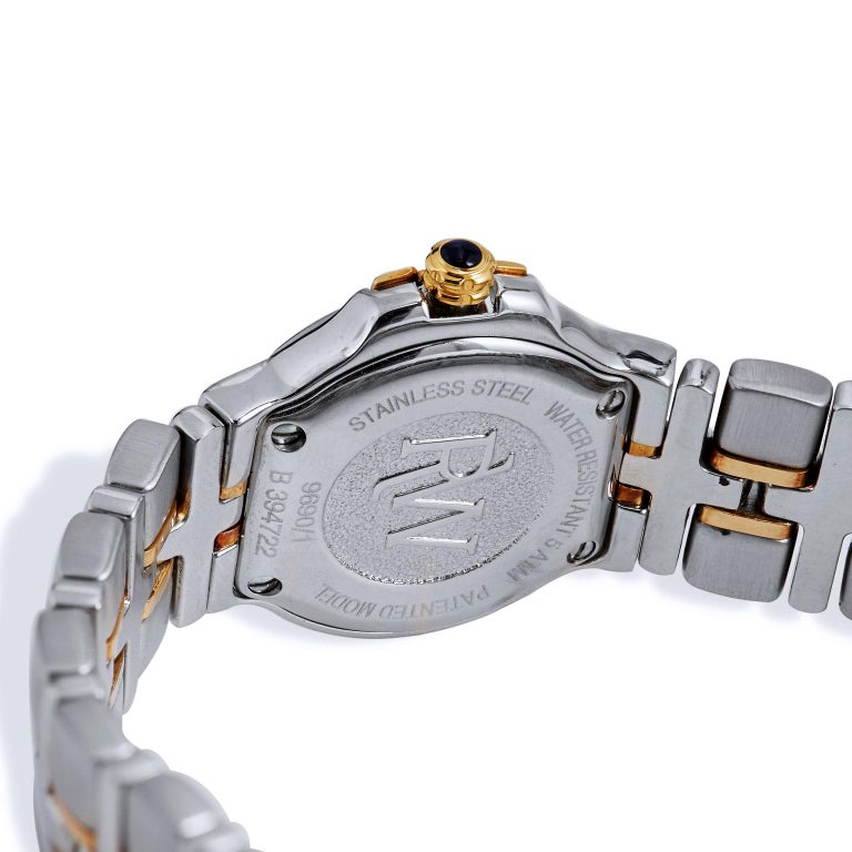 Women's Raymond Weil Parsifal Stainless Steel and Yellow Gold Watch For Sale
