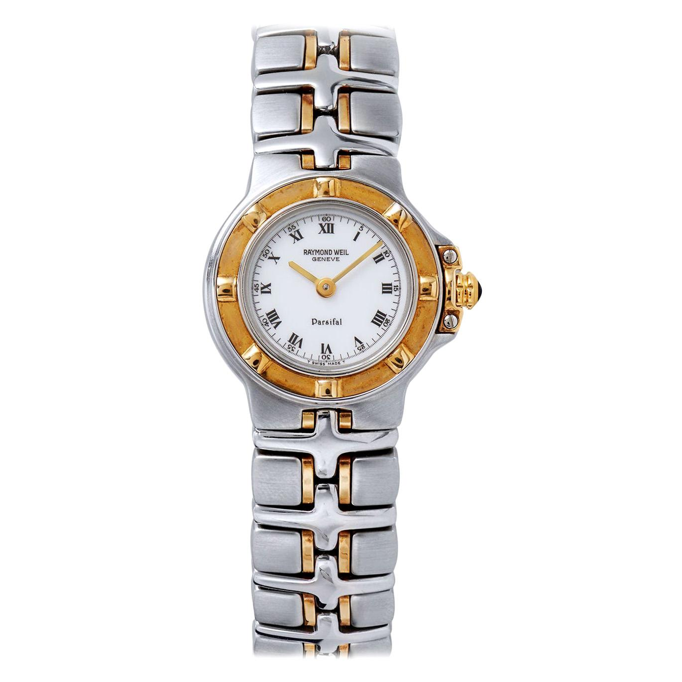 Raymond Weil Parsifal Stainless Steel and Yellow Gold Watch