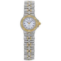 Raymond Weil Parsifal White Dial Two-Tone Steel Quartz Ladies Watch 9690