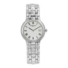 Raymond Weil Parsifal White Roman Dial Steel Quartz Ladies Watch 8810-SSR