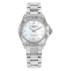 Raymond Weil RW Spirit White MOP Dial Steel Quartz Ladies Watch 3170-ST-05985