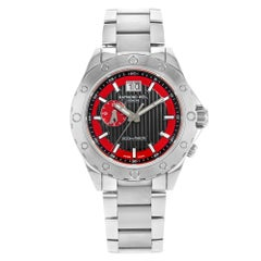 Raymond Weil RW Sport Black Dial Stainless Steel Quartz Mens Watch 8200-ST-20041