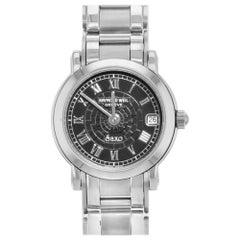 Raymond Weil Saxo Steel Black Roman Dial Quartz Ladies Watch 9621S-BR