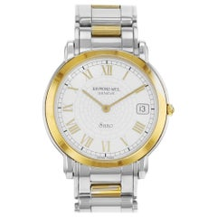Raymond Weil Saxo Two-Tone Ion Plated Steel Quartz Unisex Watch 9521TT/GR