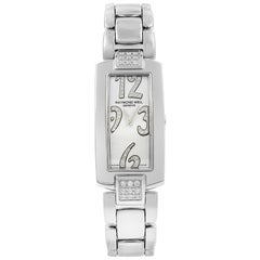 Raymond Weil Shine Stainless Steel Diamonds Quartz Ladies Watch 1500-ST2-05383