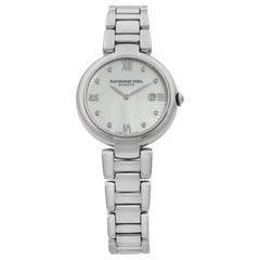 Raymond Weil Shine Steel Diamond Dial Quartz Ladies Watch 1600-ST-00995