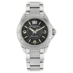 Raymond Weil Sport Black Dial Analog Steel Quartz Men's Watch 8150-ST-05207