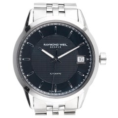 Raymond Weil Stainless Steel Automatic Wristwatch