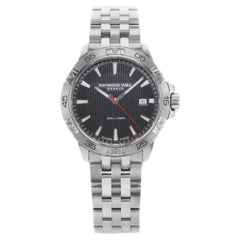 Raymond Weil Tango 8160-ST2-20001 Black Dial Stainless Steel Quartz Men's Watch