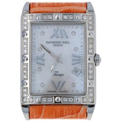 Raymond Weil Tango Diamond Ladies Watch Stainless Steel Quartz 2Yr. Wnty 5981