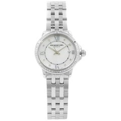 Raymond Weil Tango MOP Dial Steel Diamonds Quartz Ladies Watch 5391-STS-00995