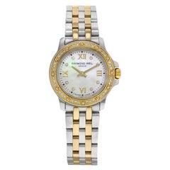 Raymond Weil Tango MOP Dial Two-Tone Steel Quartz Ladies Watch 5799-SPS-00995