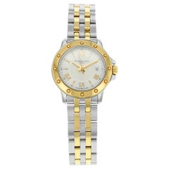Raymond Weil Tango Silver Dial Steel Two-Tone Quartz Ladies Watch 5399-STP-00657