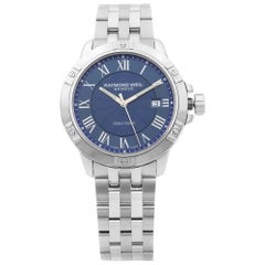 Raymond Weil Tango Stainless Steel Blue Dial Quartz Men's Watch 8160-ST-00508