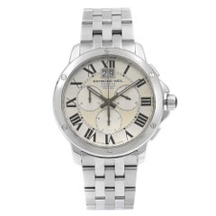Raymond Weil Tango Stainless Steel Silver Dial Quartz Men's Watch 4891-ST-00650