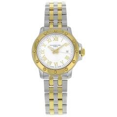 Raymond Weil Tango Steel and Gold Tone Quartz Ladies Watch 5399-STP-00308