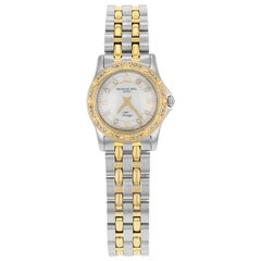 Raymond Weil Tango Steel Gold Tone MOP Dial Quartz Ladies Watch 5790-SPS-00995