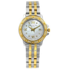 Raymond Weil Tango Two-Tone Steel MOP Dial Quartz Ladies Watch 5399-SPS-00995