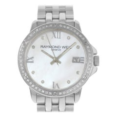 Raymond Weil Tango White MOP Dial Steel Diamonds Ladies Watch 5391-STS-00995